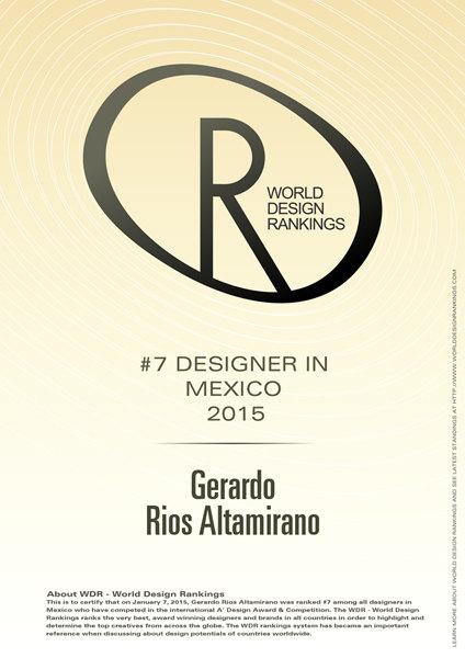 GERARDO RÍOS: THE POSITION No. 7 IN THE LIST
